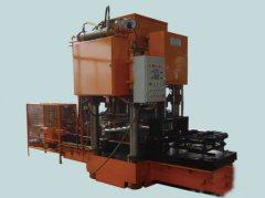 Color cement roof tile machine